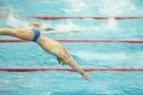 Seven-year-old breaks longest swim record