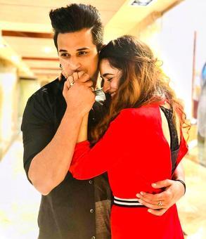 Prince Narula-Yuvika Chaudhary engaged