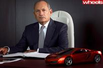 Ron Dennis ousted as McLaren CEO after 35 years