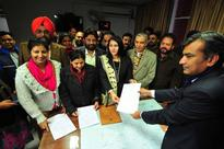 BJP, Congress candidates file nomination for Chandigarh mayoral polls