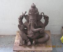 Astadhatu idol of Lord Ganesh worth 25 crore recovered in Kaushambi, 6 held