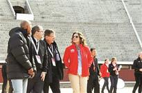 Madrid mayor hails first Olympic visit
