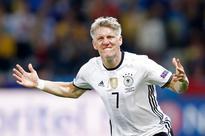 Germany 2-0 Ukraine: Germans get off to winning start thanks to goals from Mustafi and Schweinsteiger