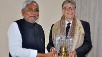 Gates, Nitish to work together on major health issues