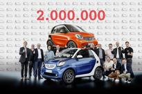 Sales of Smart cars pass the two million mark