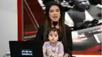 Justice for Zainab: Pak anchor hosts show with daughter on lap to protest rape and murder of 8-year-old