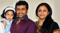 Suriya goes to US on a holiday with family