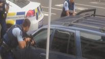 Video: Armed police swoop linked to Auckland CBD meth bust