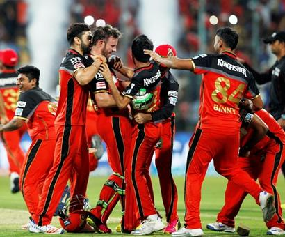 IPL PHOTOS: AB de Villiers takes Royal Challengers Bangalore into final