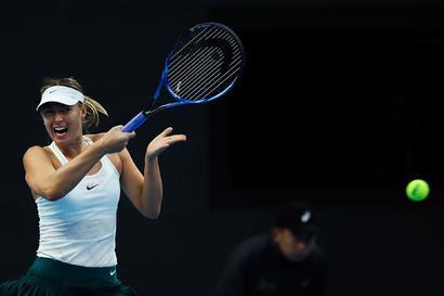 Sharapova wins first WTA title since return from ban