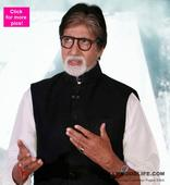 What? Did Amitabh Bachchan just call himself a bad singer?