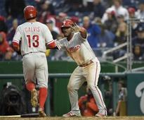 Phillies make it a sweep as listless Nationals are shut out again