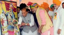 Why isn't Rana Pratap called 'the Great' like Akbar: Rajnath Singh