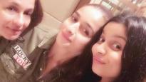 Girls night fun: Alia Bhatt enjoys with mom, sister Shaheen Bhatt