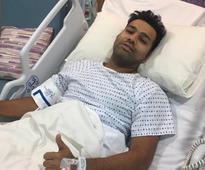 Rohit undergoes successful surgery