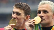 Phelps told Lochte at Olympics: 'Keep your head on straight'