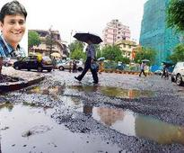 Fix Dadar potholes, or we will kidnap y... Fix Dadar potholes, or we will kidnap you
