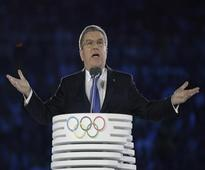 IOC chief Bach describes Rio Olympic Games as 'iconic'