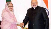 Its raining gifts on Indian leaders from Bangladesh Prime Minister