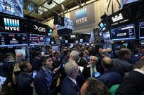 US STOCKS-Wall St slips on President Trump's protectionist views
