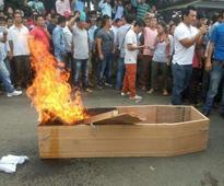 Leader's Suicide Sparks Protest in Arunachal