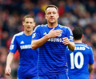 Terry signs for another year with Chelsea