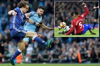 Top 10 worst Premier League tackles of all time after Sergio Aguero and Marcos Rojo's rash challenges