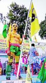 Highway blockade for Bodoland