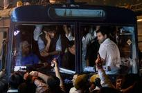 Kejriwal, Rahul detained, let off as suicide triggers row