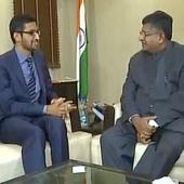 Google to partner with India's 'Internet Saathi' program: Ravi Shankar Prasad