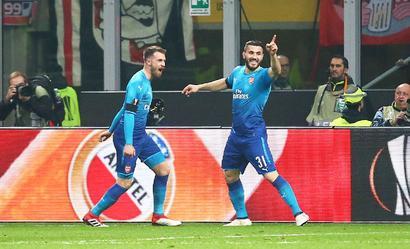 Europa League: Arsenal stun Milan 2-0, Atletico cruise to victory