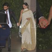 Ranveer Singh and Deepika Padukone secretly engaged? Is that a ring on Deepika's finger?