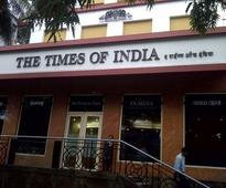 Fire at Times of India building in New Delhi; 10 fire tenders at the spot