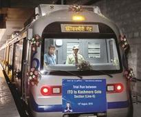 DMRC starts trial run on heritage line