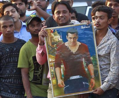 Salman's star burns bright even though he heads to jail for 5th time