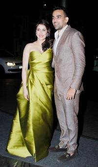 PHOTOS: Sachin, Virat grace Zaheer-Sagarika's engagement party