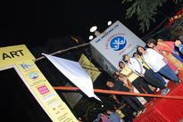 Actor Govinda attended Lokhandwala Half Marathon/10KM