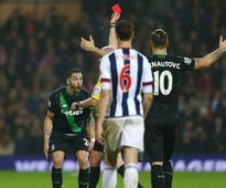 Mark Hughes Blasts Claudio Yacob Reaction for Geoff Cameron Red