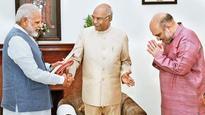 Ram Nath Kovind scales Raisina Hill