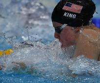 FINA World Championships: US swimmer Lilly King breaks world record to win gold in 50m breaststroke