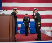 US Navy's Amphibious Squadron 11 changes command