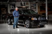 Ford and Jay Leno to auction one-of-a-kind Harley-Davidson F-150 for charity