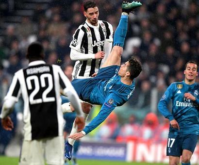 PHOTOS: Ronaldo's outrageous bicycle kick caps emphatic Real win