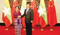 China to support Myanmar peace talks: Suu Kyi