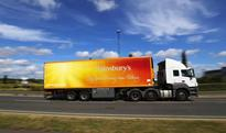 Sainsbury's go fully eco-friendly with new zero emissions truck that 'runs on thin air'