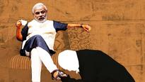 Allahabad HC judges click selfies with PM Modi, one even touched his feet
