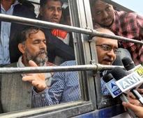 Amid jubilation inside, protests outside, Jan Lokpal Bill tabled