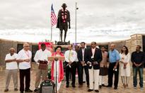 I-Day celebrated at Gandhi Memorial in Dallas