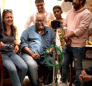 Kajol starts shooting for her next film