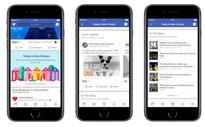 Facebook said to be testing new 'Today In' local news and events section in the app
